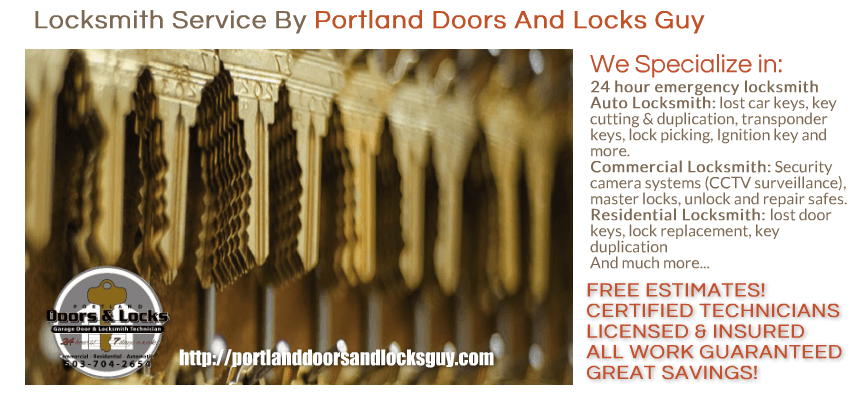 locksmith Portland, OR locksmith