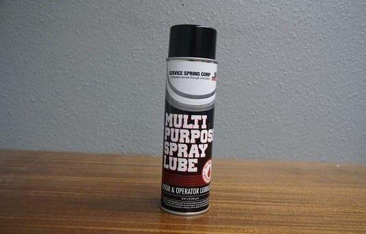 garage door spray lube