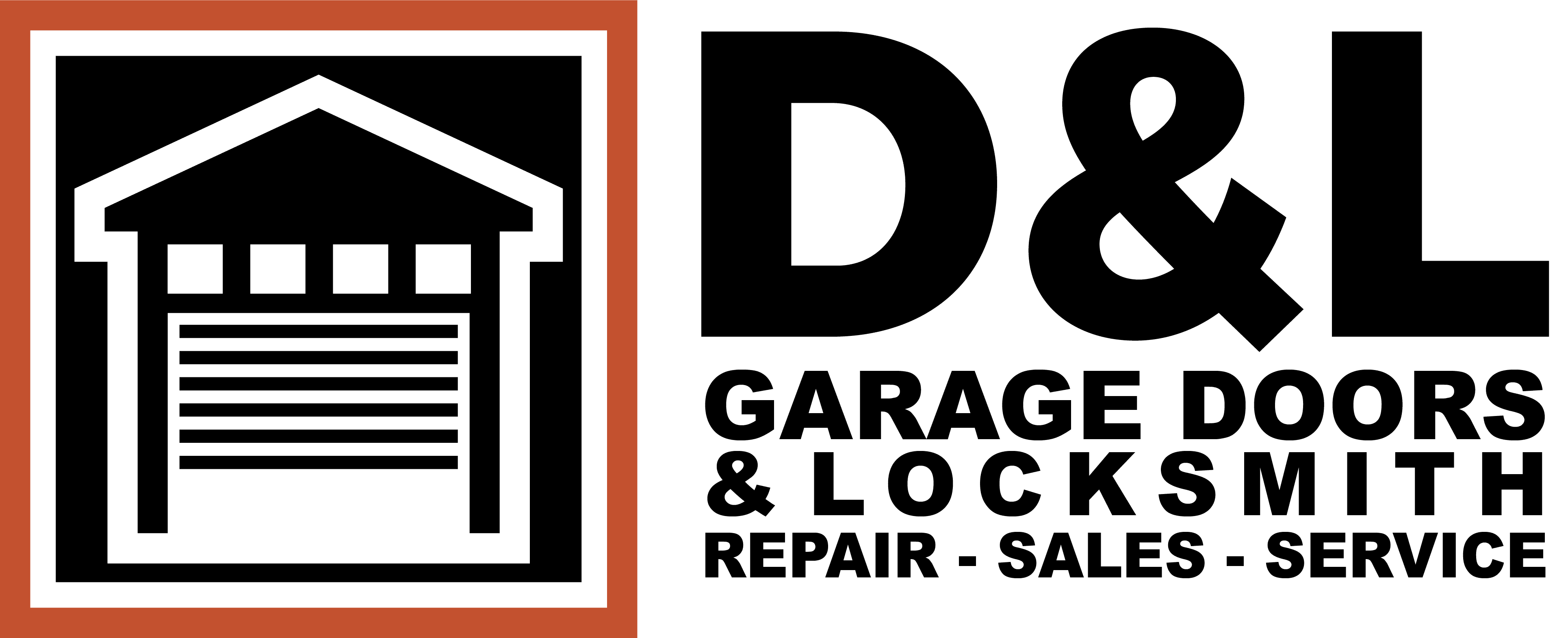 D&L Garage Doors & Locksmith - Repair, Service and Installation
