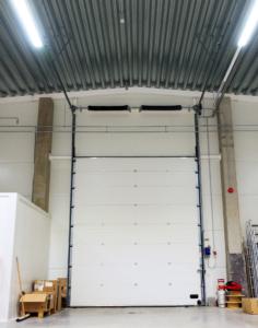 high lift garage door conversion