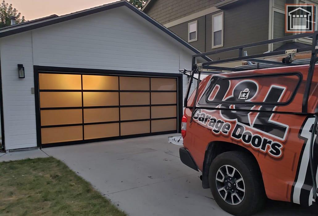 Full-view Garage Door