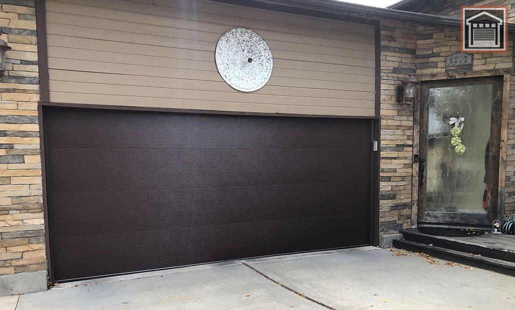 Flush Panel garage door